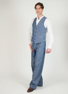 Orillero chambray pantalone tango