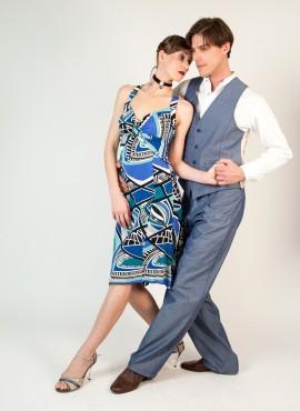 Milonga Sueno abito da tango donna paco perez