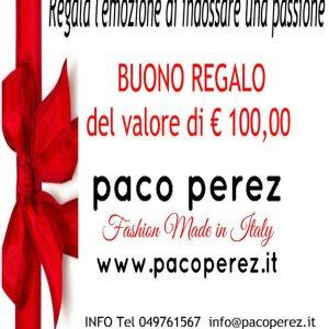 Buono regalo per acquistare vestiti tango