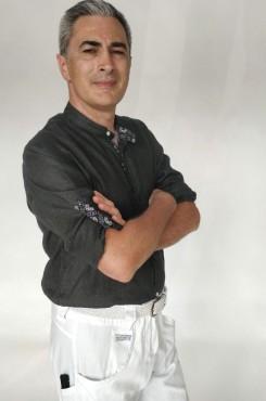 Camicia coreana nero