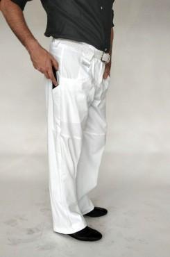 Pantalone tango bianco